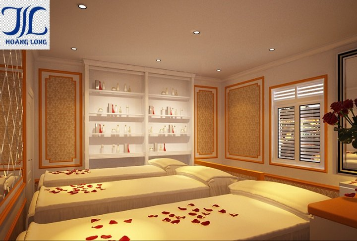 Thiết kế nội thất spa The Beauty
